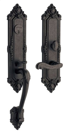 Distressed Oil-Rubbed Bronze Kensington Entrance Trim