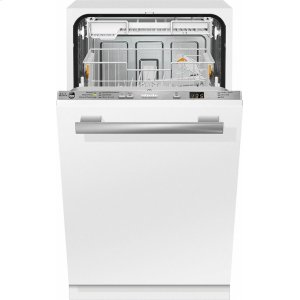 MieleG 4780 SCVi AM Fully integrated dishwashers with hidden controls, cutlery tray, custom panel handle ready, ADA Compliant