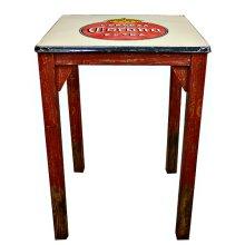 Antique Metal Top Pub Table (Corona)