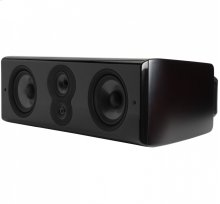 The Big Center Channel for Serious Listeners in Midnight Mahogany