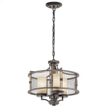 Ahrendale Collection Ahrendale 3 Light Chandelier/Semi Flush - AVI AVI