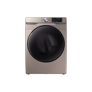Samsung7.5 cu. ft. Gas Dryer with Steam Sanitize+ in Champagne