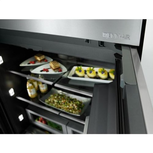 36-Inch Built-In French Door Refrigerator
