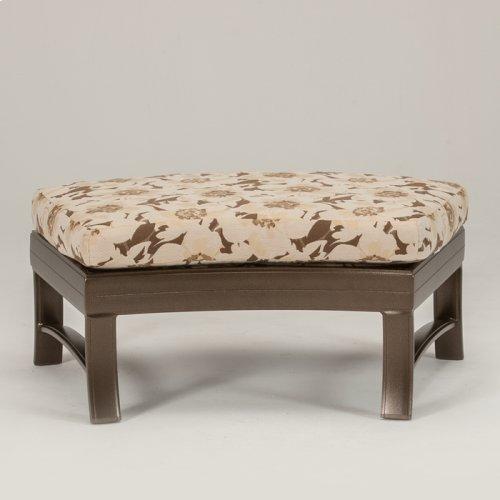 Ravello Cushion Crescent Ottoman Bench 38 x 24