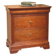 Wood Top La Rochelle Night Stand