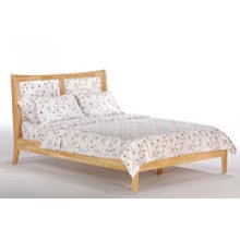 Chameleon Bed in Natural Finish