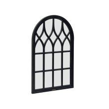Chimney Wood Framed Cathedral Mirror