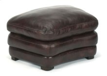 Dylan Leather Cocktail Ottoman