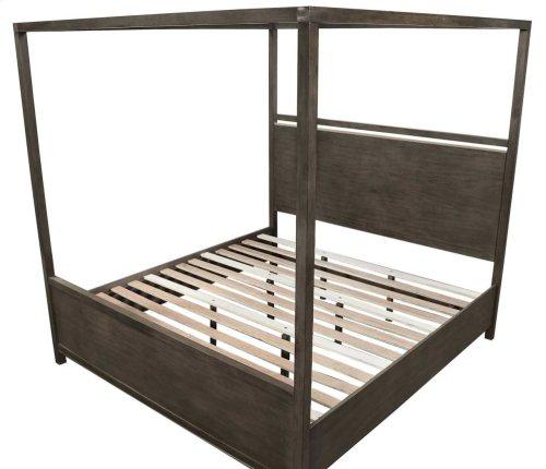 "Katy Queen Canopy Bed Frame Pillar, 64""x2""x82"""