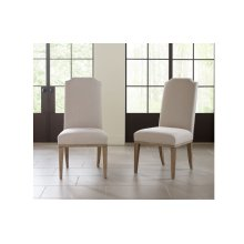 Monteverdi by Rachael Ray Upholstered Host Side Chair