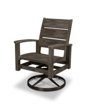 Bronzewood Swivel Rocker Dining Chair Product Image
