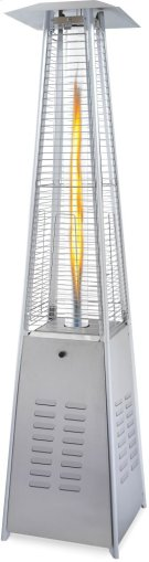 SKYFire Bellagio Patio Torch with Tall Flame Stainless Steel , Propane Product Image