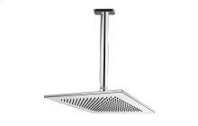 Contemporary Showerhead with Ceiling Arm