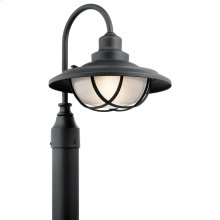 Harvest Ridge Collection Harvest Ridge Outdoor Post Lantern in BKT