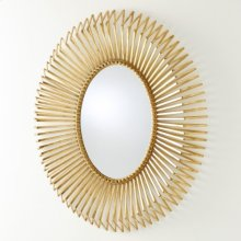 Andreas Mirror-Gold Leaf