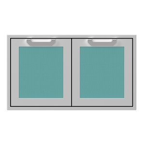 "Hestan36"" Hestan Outdoor Double Storage Doors - AGSD Series - Bora-bora"