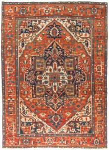 Antique Hand Knotted Rug