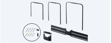 Wall-Mount Bracket for BRAVIA® X940D/930D series TVs