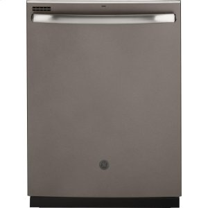 GE®Smart Hybrid Stainless Steel Interior Dishwasher with Hidden Controls
