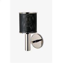Montecito Wall Mounted Single Arm Sconce with Perforated Shade STYLE: MTLT01