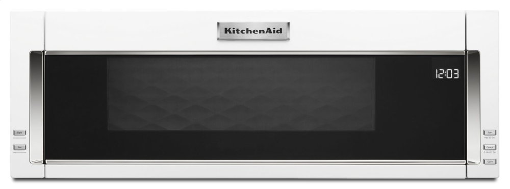 Kmls311hwhkitchenaid 1000 Watt Low Profile Microwave Hood
