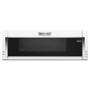 1000-Watt Low Profile Microwave Hood Combination - White - WHITE