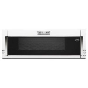 1000-Watt Low Profile Microwave Hood Combination - White