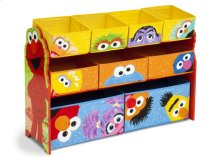 Sesame Street Deluxe Multi-Bin Toy Organizer - Style 1