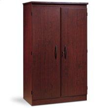 2-Door Storage Cabinet - Royal Cherry