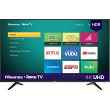 "55"" Class - R6 Series - 2018 - 4K UHD Hisense Roku TV with HDR (54.5"" diag)"