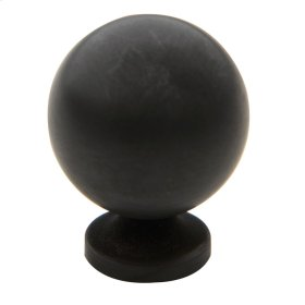 Oil-Rubbed Bronze Spherical Knob