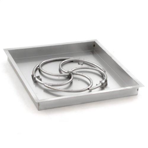 Firenado Square Drop-in Burner Pans