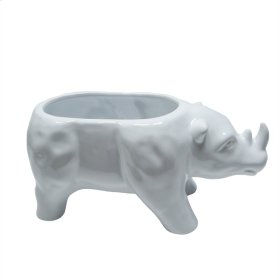 White Rhino Planter
