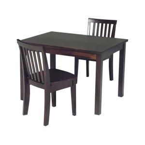 JOHN THOMAS FURNITUREJuvenile Table in Rich Mocha