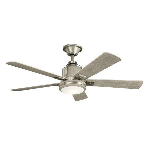 """Colerne LED 52"""" Fan Brushed Nickel"""
