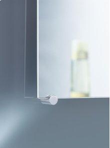 Mirror holder, 4 pcs - Grey