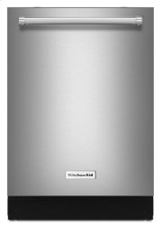 44 dBA Dishwasher with Dynamic Wash Arms - Stainless Steel Product Image