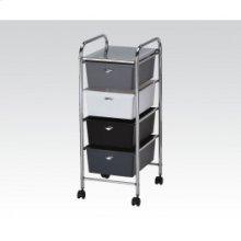 Storage Cart W/4 Drawers