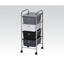 Storage Cart W/4 Drawers