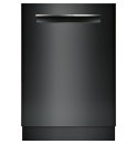 24' Flush Handle Dishwasher 800 Series- Black