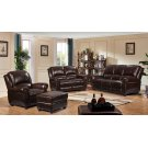 2080 Howard Ottoman Ileather 6101 Brown Product Image