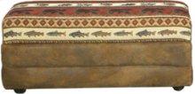Lodge Storage Ottoman