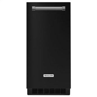 KitchenAid(R) 15'' Automatic Ice Maker - Black