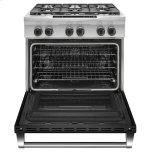 Kitchenaid 36'' 6-Burner Dual Fuel Freestanding Range, Commercial-Style - Imperial Black