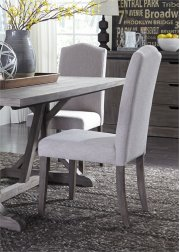 Uph Side Chair - Tan (RTA) Product Image