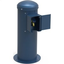 Elkay Yard Hydrant with Locking Hose Bib Non-Filtered, Non-Refrigerated Blue