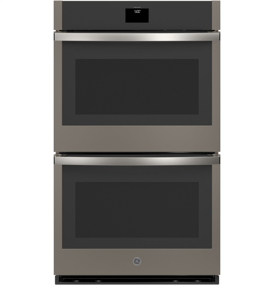 """GE(R) 30"""" Built-In Convection Double Wall Oven  SLATE"""