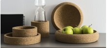 Centerpiece made of cork