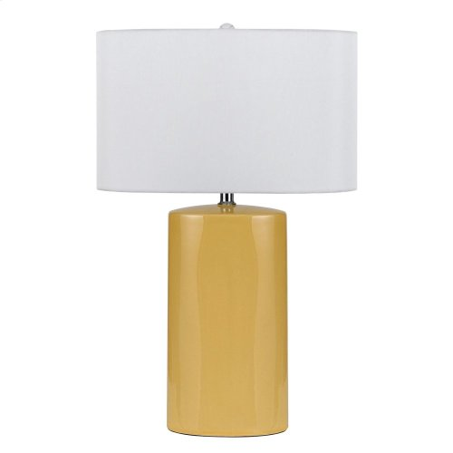 150W Minorca Ceramic Table Lamp