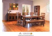 Dining Table Mix Woods - KD System
